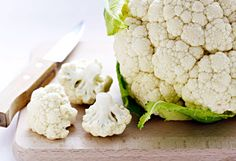 Substitute cauliflower for rice: Use a food processor or hand grater to break up cauliflower florets and stalks into tiny rice-sized pieces, and then sauté them in olive oil.