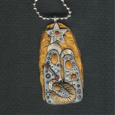 Nativity necklace by Darlene Hardenbrook (made from Polymer Clay) LINK is no longer available