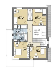 Luiza Beautiful House Plans, Beautiful Homes, German Houses, Architecture Design, Floor Plans, Backyard, House Design, How To Plan, Interior