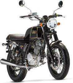 La Mash Black Seven 125 est la dernière moto du français Sima