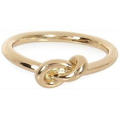 River Island Gold tone knot ring (2.64 CAD) ❤ liked on Polyvore featuring jewelry, rings, accessories, sale, knot ring, gold tone jewelry, goldtone jewelry, river island and knot jewelry
