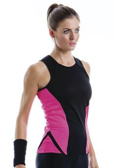 Gamegear® Ladies' Cooltex® Sports Vest      Contrast side panels     Contrast 'V' inserts at lower hem     Straight front hem, curved back hem     Self fabric bound armholes     Dry wicking fabric keeping you cool and comfortable  Great value at just £7.30