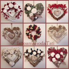 Christmas wreaths, by fattoamanodaTati su misshobby.com