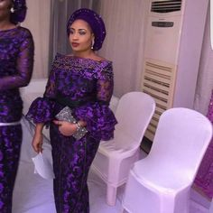 TURN UP YOUR STYLE THIS WEEKEND IN LITTY ASO EBI STYLES.