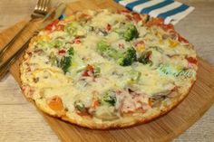 PIZZA LA TIGAIE - Flaveur Baby Food Recipes, Bread Recipes, Cooking Recipes, Healthy Recipes, Healthy Food, Focaccia Bread Recipe, Love Pizza, Calzone, Toddler Meals