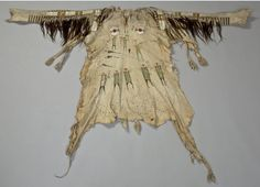 Blackfoot shirt coll by Count D'otranto ca 1840.  Stockhkolm