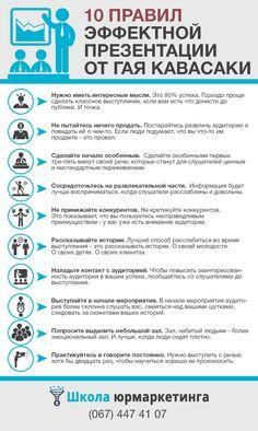 10 ПРАВИЛ ЭФФЕКТНОЙ ПРЕЗЕНТАЦИИ ОТ ГАЯ КАВАСАКИ