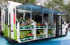 Toronto's Converted Food Share Bus Brings Produce to Food Desert Areas | Inhabitat - Green Design, Innovation, Architecture, Green Building