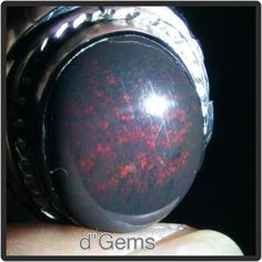 Black Opal Banten / Natural Black Opal Indonesia