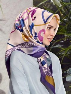 Armine Classic Head Scarves for Today s Ladies - Beautiful Hijab Styles  Attacher Un Foulard, Mode 95ff8dee5d9