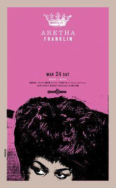 Aretha Franklin by Steve Carsella