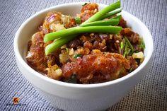 Gobi Pepper Fry   www.kothamally.com
