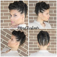 #Repost @heychrishinda An updo sure to get you plenty of compliments! This style is great for work, weddings, baby/bridal showers, even a ball...this is it!