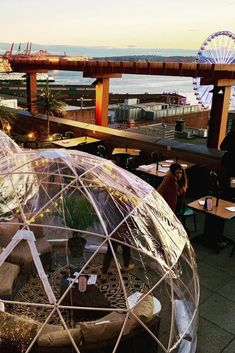We have rounded up the best six rooftop bars in Seattle for you to check out. Whether youre looking to enjoy a drink with friends or wanting to eat a meal outside in the fresh marine air we have you covered Seattle Travel Guide, Seattle Vacation, Seattle Sightseeing, Seattle Weekend, Vacation Ideas, Oh The Places You'll Go, Places To Travel, Places To Visit, Travel Destinations