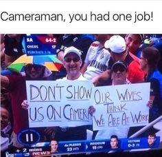 Cameraman, you had one job!