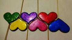 Colorfull hearts!!