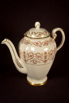 RESERVED For Deborah Kirk ** - Royal Chelsea Teapot Cardinal Pattern Bone China…