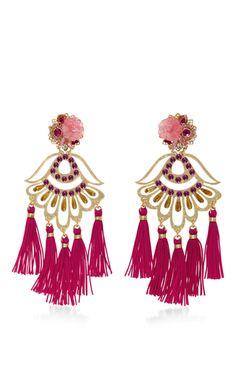 Mercedes Salazar Aretes Fiesta Earrings