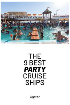 We've rounded up a wide array of cruise ships for every kind of party traveler. Expect bumping dance music, lots of nightclub action, and hosted daytime pool parties. To even things out, we've also found the ships that are best for travelers who like to mix high-octane adventure with their party antics, and even some family-friendly party ships. Click to read our nine favorite party cruise ships, from Carnival to Disney and everything in between. It's a party on the high seas. Cruise Travel, Cruise Vacation, Disney Wonder Cruise, Carnival Fantasy, Anthem Of The Seas, Harmony Of The Seas, How To Book A Cruise, Norwegian Cruise Line, Disney Fantasy