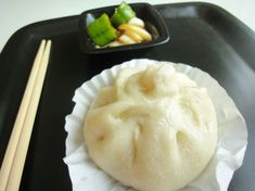 Steamed pork buns! Made these with my husband tonight and they were fantastic! Step by step blog and video