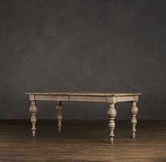 Grand Baluster Rectangular Dining Tables