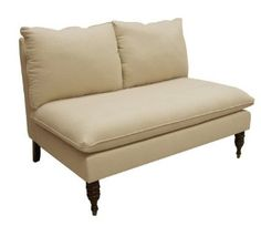 Amazon.com: Skyline Furniture Maverick's Love Seat in Microsuede Lazuli: Home & Kitchen