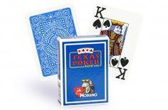 Cartes Modiano Texas Poker (bleu clair) - Pokeo.fr - Jeu de 52 cartes Modiano 100% plastique Texas Poker de couleur bleue clair.