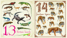 Learn how to count with the animal flashcards!  #counting#QED