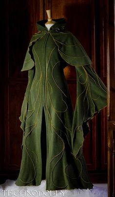 Haunted Elven Coat & Camilina Capelet: