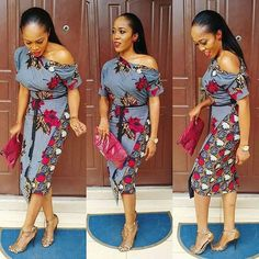 Check out this Fashionable latest african fashion look African Dresses For Women, African Print Dresses, African Print Fashion, Africa Fashion, African Fashion Dresses, African Attire, African Wear, African Women, African Prints