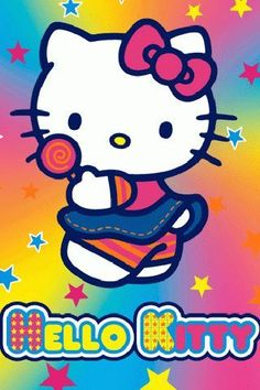 Walpaper Hello Kitty, Hello Kitty Iphone Wallpaper, Apple Wallpaper Iphone, Apple Iphone, Sanrio Characters, Fictional Characters, Friends Poster, Thanksgiving Wallpaper, Hello Kitty Pictures