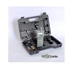 Medidor portátil a pilas, mide Co2, temperatura y humedad.