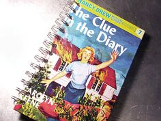 Journal Notebook NANCY DREW The Clue in the by theChineseLaundry