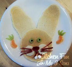 Bunny pancakes