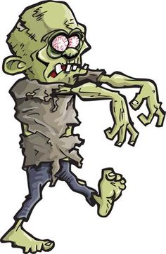 Free zombie clipart vectors download free vector art image 2