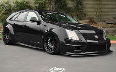 Cadllac CTS-V. Ok. I'd rock this wagon