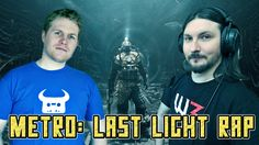 METRO: LAST LIGHT RAP | Dan Bull & Miracle Of Sound