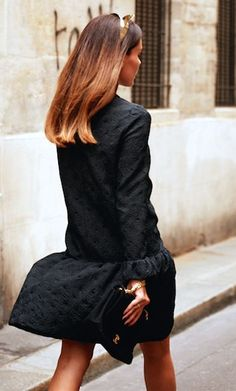 black with gold cat ears- fun... - Total Street Style Looks And Fashion Outfit Ideas