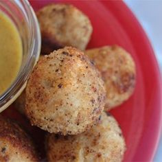 """Chicken Cordon Bleu Bites   """"Used a quality sharp white Cheddar instead of Swiss. Excellent choice."""""""
