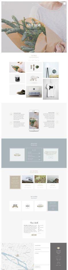 Yaga - Multipurpose WordPress Theme on Themeforest