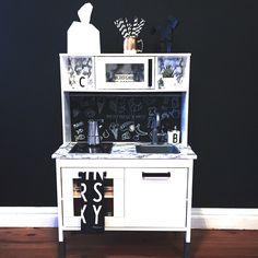 Play Kitchen Ikea DUKTIG Pim #duktig #ikeahack #kidskitchen #playkitchen #duktigpimp by @kuestnkind_com