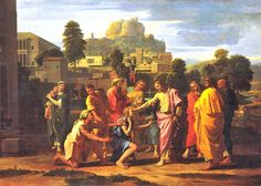 The Healing of the Blind Man of Jericho by Nicolas Poussin
