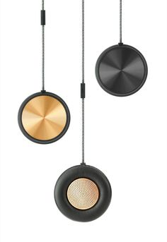 Monocle speaker & speakerphone by native union