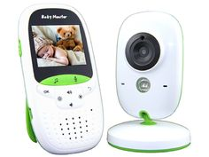 Video Baby Monitor, Two-Way Audio/Temperature Monitoring