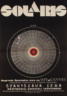 Solaris, Polish Movie Poster by Andrzej Bertrandt (1972)