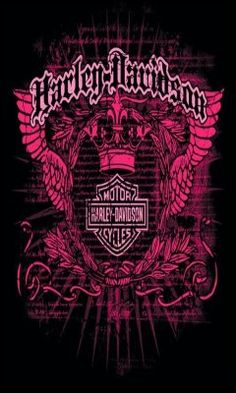 Pink Harley Davidson Logo | Download Pink Harley Davidson 56800 Logos mobile wallpapers