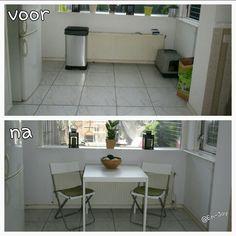 Keuken achter