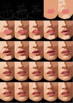 Photoshop Eye Tutorial by on DeviantArt Digital Painting Tutorials, Digital Art Tutorial, Art Tutorials, Digital Paintings, Drawing Tutorials, Cool Photoshop, Photoshop Actions, Photoshop Elements, Poses References