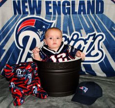 #patriots!!! Bebe'!!! Real cutie....and you say you want to play quarterback.