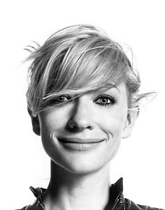 Cate Blanchett...so bella and love that smile